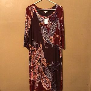 Cato Dress Large NWT